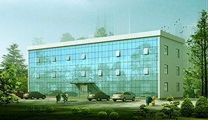 офисное здание из металлоконструкций
