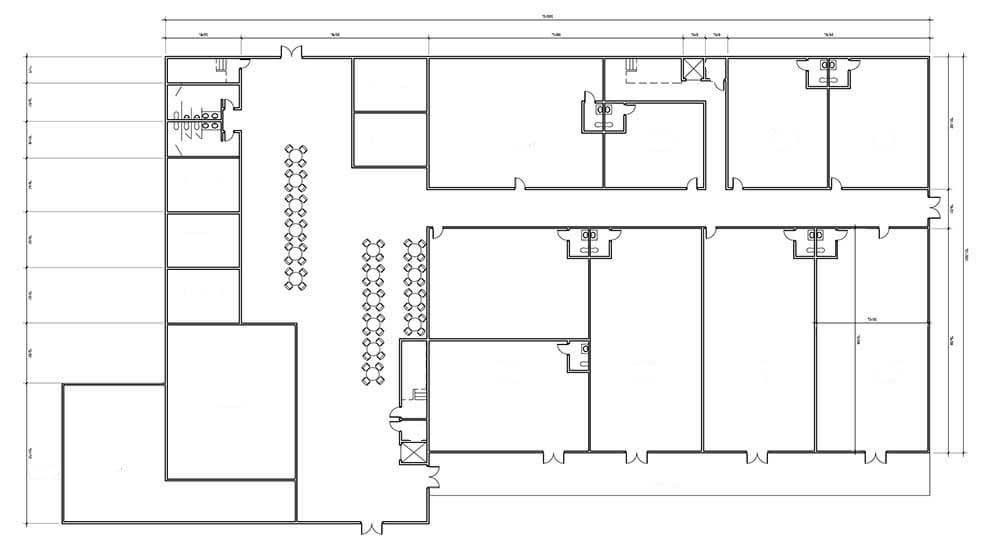 Примеры планов этажей