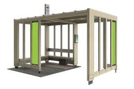 Модифицированные автобусные остановки