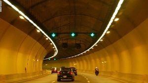 Подвесное освещение туннелей