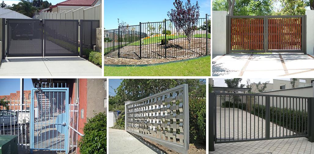 Металлические заборы и ворота
